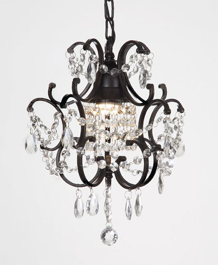 Crystal wrought iron chandelier forevermore events wedding rentals aloadofball Gallery